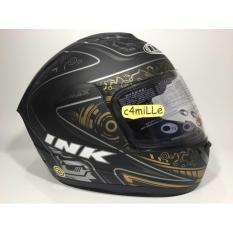 Helm INK CL Max Black Matt Gun Metal Full Face