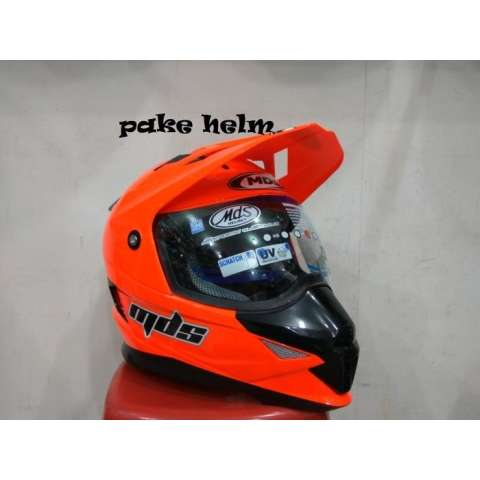Motor Cross MDS Super Pro Supermoto Double Visor Yamaha Ninja Honda Red. Source · HELM