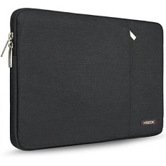HSEOK 14-15.6 inch Laptop Sleeve Case for 15 MacBook Air MacBook Pro 2016 14 - 15 Apple ASUS Acer Lenovo Dell HP Toshiba Chromebook Computers, Spill-Resistant, Black