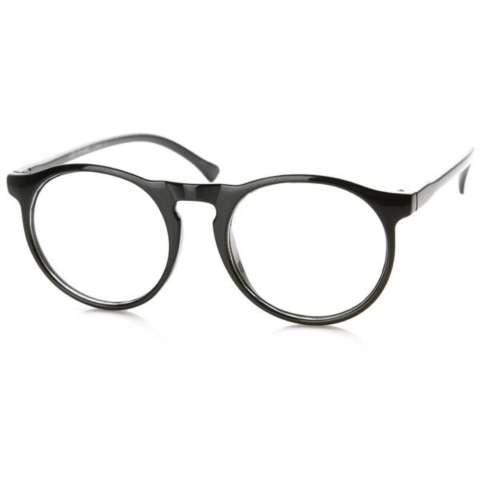 Indi Retro Round Clear Lens Fashion Glasses 14977 L - Sabyan- Nissa - Kacamata  Wanita 795b7f428d