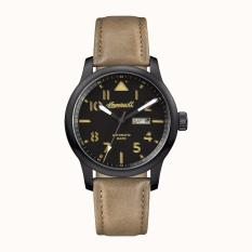 INGERSOLL I01302 - The Hatton - Automatic - Jam Tangan Pria - Bahan Tali Leather - Coklat