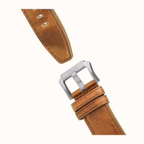 INGERSOLL I01501 - The Hatton - Chronograph - Jam Tangan Pria - Bahan Tali Leather - Coklat 3