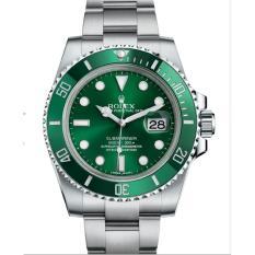 Jam Rolex Submariner Silver Green 'Hulk