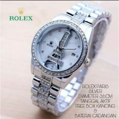 Jam Tangan Fashion Wanita Paris Stainless Steel Grosir Murah