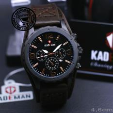 Jam Tangan KADEMAN Original - Crono Off - Tanggal Aktif (water resistant)