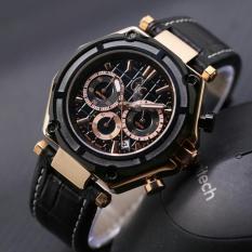 Jam Tangan Pria / Cowok Murah Gc SK755 Leather Rose ORI