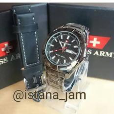 Jam Tangan Pria Cowok Swiss Army KW Super