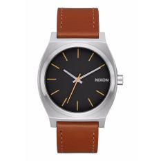Jam Tangan Pria Nixon A0452455 Strap kulit coklat