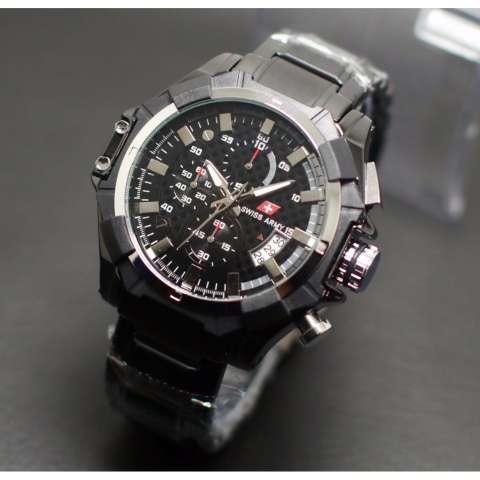 jam tangan pria original swiss army chrono aktif spesial edition-stenlees