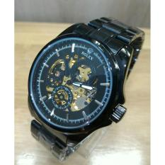 Jam Tangan Rolex-Automatic - Jam Tangan Formal Pria - Stainless Steel - jam tangan pria casual-stainless steel