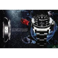 Jam Tangan Rolex-Deepsea Master Black Automatic