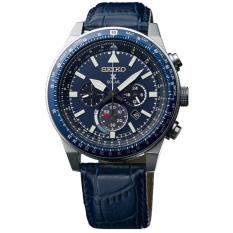 Jam Tangan Seiko Prospex Sky SSC609P1 Solar Chronograph Blue Dial