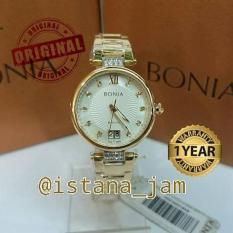 Jam Tangan Wanita Bonia 10259 Gold Original