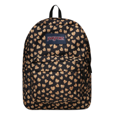 JanSport Superbreak Tas Ransel - Glitter Hearts