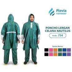 Jas Hujan Poncho Lengan Celana Plevia NAUTILUS 734 - Batman Ponco PINK
