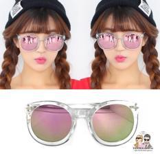 Kacamata Vasckashop Claire Transparant Pink