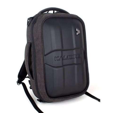 Kalibre Hardwike Tas Ransel Laptop Multifungsi 3 in 1 Selempang Jinjing Gendong Touring Hitam 910507-