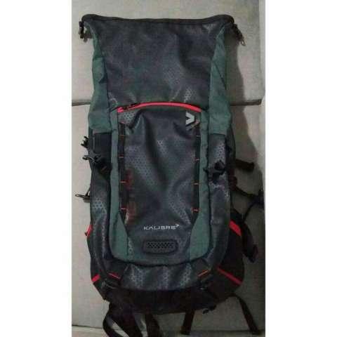 Kalibre Metroplex 02 Tas Ransel Laptop Outdoor Adventure Daypack Bacpack Abu Hitam 910402-042