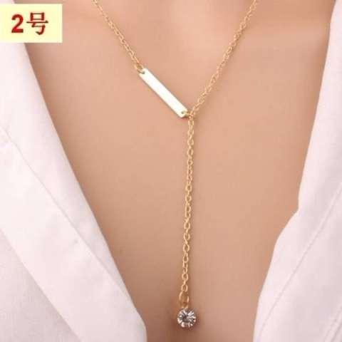[PROMO] Kalung Rantai Import Korea Lapis Emas Perhiasan Imitasi LYS30