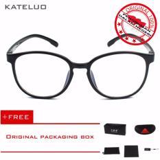 KATELUO TR-90 Kacamata Baca Komputer Anti Radiasi Pria Wanita Frame Ringan - Free Kotak Hardcase Original