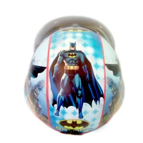 Kreasi Lokal - Helm Bogo Pilot Anak Usia 6 - 10 Tahun Motif Pilot Batman 2