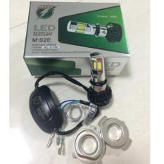 Lampu LED Motor Bohlam DEPAN 6 sisi RTD ASLI M02E AC/DC