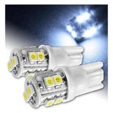 Lampu Senja Motor T10 LED 10 Mata Murah Universal Semua Motor (Isi 2) - Putih