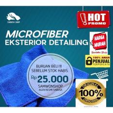 Lap microfiber khusus mobil 40x40cm, kain microfiber Premium Quality