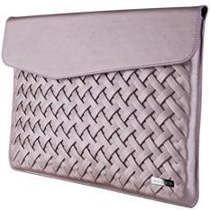 Laptop Case, Laptop Sleeve, SRS DIGICH 13 Inch Laptop Tahan Air Kasus Pelindung dengan PU Leather dan Soft Lining untuk Baru Apple MacBook Pro Air 2017 HP Dell Asus Lenovo YOGA Toshiba Samsung Acer Pink