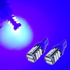 2 Biji Lampu Led Motor Mobil T10 Senja Sein Sen 11 Titik 7020 Super Bright Arsystore ARSY - Biru