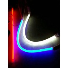 LED DRL Flexible 30CM Lampu Alis Neon Motor Mobil Warna Warni MURAH!!