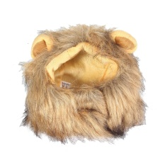 leegoal Lion Mane Wig For Dog And Cat Costume Pet Adjustable Washable Comfortable Fancy Lion Hair Dog Clothes Dress For Halloween Christmas Easter Festival Party Activity - intl