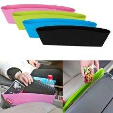 Lucky - Rak Selipan Mobil - Tempat barang Sisi Jok Mobil Car Seat Organizer - Random Colour