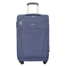 Luminox Tas Koper Softcase - 4 Roda Putar - Kunci TSA 7736 Size 20 Inch - Biru