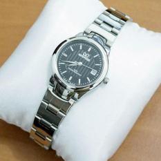 Mirage Jam Tangan Wanita Original - strap Stainless - Silver