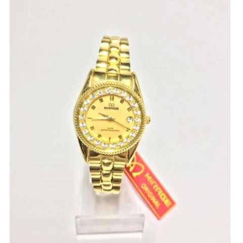 Mirage Jam Tangan Wanita Rx tgl Gold MI244463 E