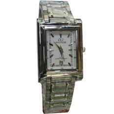 Mirage - Jam Tangan Wanita - Stainless Steel - MRG 7230 Silver