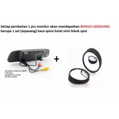 Monitor + spion portable mobil 4.3