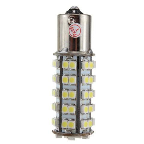 Moonar 1156 BA15S P21W 68SMD LED Lampu Putih Alami Cahaya Lampu Mobil Di Parkir Sinyal Lampu