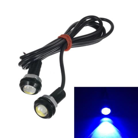 Car Styling DIY 9W 500 Lumen Waterproof Eagle Eye LED Lamp 1 PCS Source · Moonar 2 pcs 18mm 9 W LED Eagle Eye Kabut Mobil Siang Hari Reverse Signal DRL