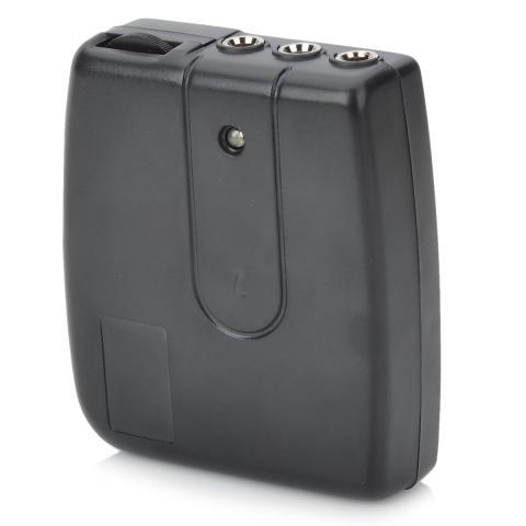 Helm Sepeda Motor Headset Interfon 2 Arah Interkom-Hitam (2 X AAA)