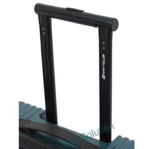 Navy Club Tas Koper Hardcase Fiber PC - 4 Roda - Resleting Anti Tusuk Expandable -