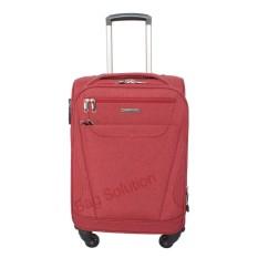 Luminox Tas Koper Softcase - 4 Roda Putar - Kunci TSA 7736 Size 24 Inch - Merah