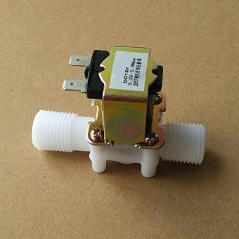 Promo BARU 12 V DC Katup Solenoid Listrik Magnetic untuk Air Secara Normal Katup Tertutup-