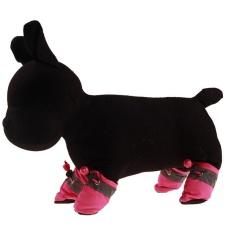 Baru Nyaman Anti-slip Sepatu PUPPY Anjing Kucing Boots Sneaker Boots-Intl