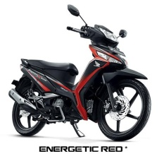 NEW SUPRA X 125 FI SPOKE WHEEL - ENERGETIC RED KAB. WONOSOBO