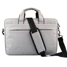 niceEshop Laptop Shoulder Bag For 15.6 Inch Laptop ,Waterproof Polyester Briefcase Sleeve Case Cover Handbag With Back Belt For Trolly Case