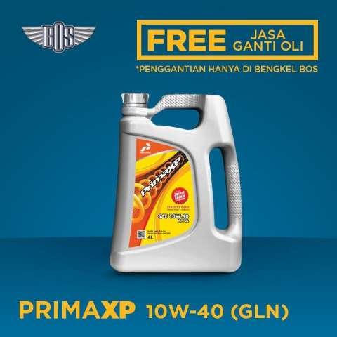 Jual Beli Oli Pertamina Prima Xp 10w 40 4 Liter Gratis Servis Jasa Harga Rp 228000