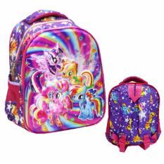 Onlan My Little Pony 5D Timbul Tas Ransel Anak Sekolah TK New Model