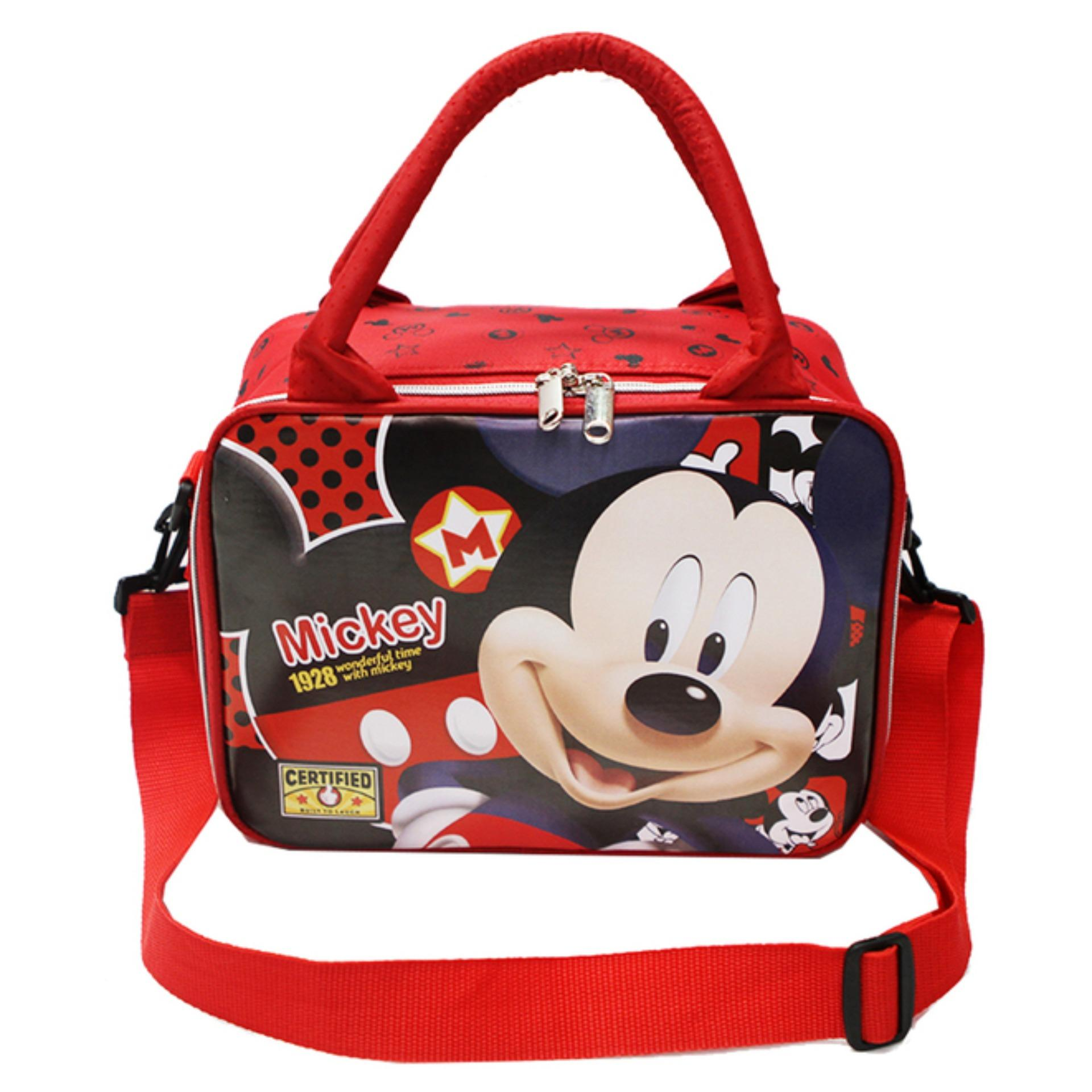 7dfcbf90c8c3 Onlan Tas Travel Bag Mini Karakter Anak Tali Selempang Bahan Kain Sponge  Tahan Air